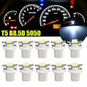 20pcs White 12V T3 SMD5050 Dash Instrument Panel LED Light Bulb for Car