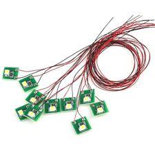 DD00R 20pcs Pre Wired RED SMD 3528 Led Lamp Light Set 12V ~ 18V NEW