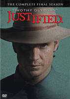 Justified: The Final Season 2015 Western dvd Set (3 disc) TIMOTHY OLYPHANT