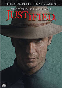 Justified: The Final Season (DVD, 2015, 3-Disc Set) NEW Season 6 Free Shipping
