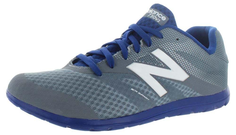 Un nuovo equilibrio mx730v2 uomini grigio grigio uomini / blu della formazione di scarpe da corsa, sz 8 (2e), # mx730pm2 a2a1df
