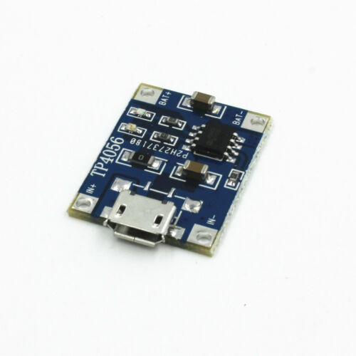 2* Micro USB 5V 1A Lithium Battery Charging Board Charger Module for Raspberry