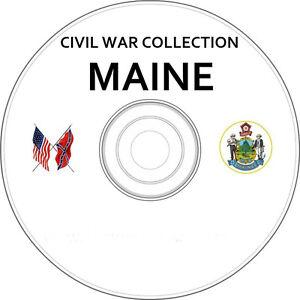 Maine-Civil-War-amp-Genealogy-Vintage-Book-Collection-on-CD