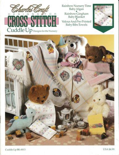 Cuddle Up Designs for the Nursery Cross StitchCharles Craft #BK-0013