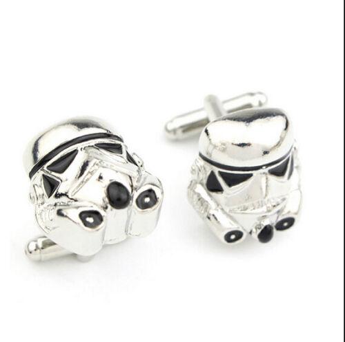 Manschettenknöpfe Stormtrooper//Death Star von Star Wars aus Legierung