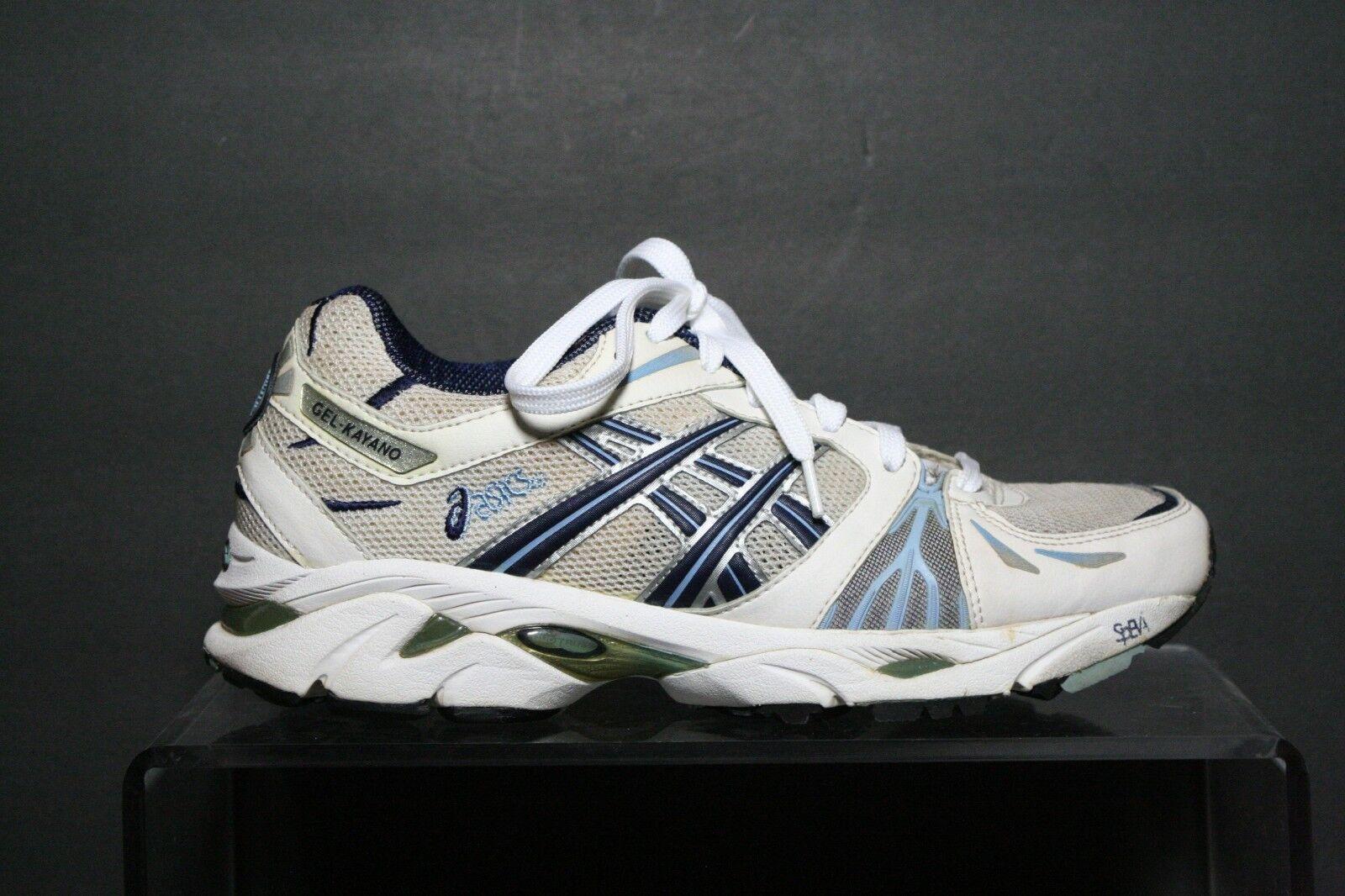 ASICS GEL Kayano VTG tn450 running mujer 8,5 Athletic multi y blanco azul DuoMax comodo y multi atractivo ccb10e