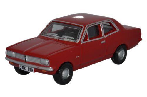 t48 Post Autos Oxford 76HB003 Vauxhall Viva Hb Monza Red 1/76 Maßstab = 00 Gauge Neu