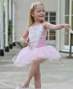 f3d18a926bc8 3-5 Years Girls Pink Ballerina Tutu Party Outfit Dance Fancy Dress ...