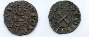 Gertbrolen-Philippe-IV-dit-Le-Bel-1285-1314-Denier-Tournois-Exemplaire-N-10