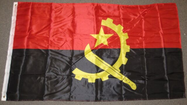 3x5 Angola Flag Country Banner New Indoor Outdoor