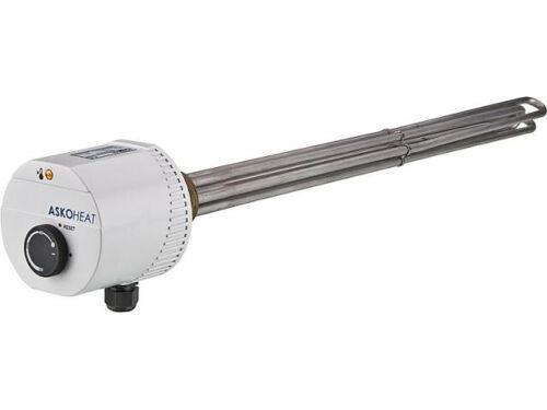 Einschraubheizkörper 4,5 KW 230V AC//3x400 V AC 1 1//2/'/' Einbaulänge 500mm
