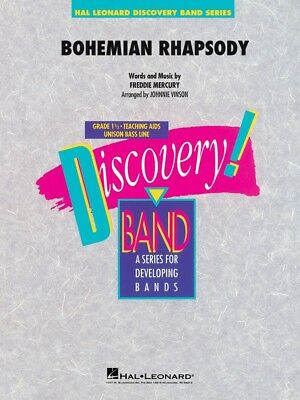 Instruction Books, Cds & Video Brass Trustful Bohemian Rhapsody Discovery Concert Band Book New 004005724 Rapid Heat Dissipation