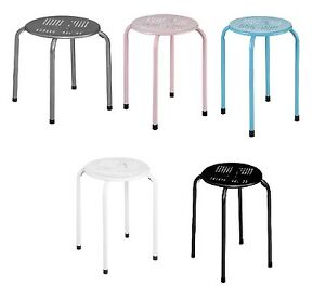 Remarkable Details About New Look Modern Simple Metal Stacking Stool Home Bar Kitchen Office Hotel Stool Uwap Interior Chair Design Uwaporg