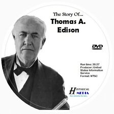 THE STORY OF THOMAS A. EDISON (DVD) (NTSC)