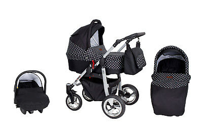 Kombikinderwagen Babykarre Kinderwagen Babywagen in 9 Farben! Buggy
