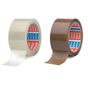 6 Rollen + 1 Rolle Gewebeband 2,5m, transparent Tesa 64014 Klebeband Paketklebeband Paketband 66m x 50mm