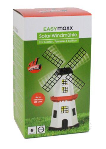 EasyMaxx Solar Mulino 25 C altamente POLIRESINA Gartendeko Giardino Luce solarleuch
