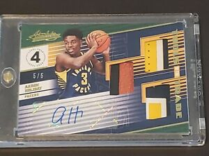 2018-Absolute-Aaron-Holiday-RC-Auto-True-RPA-3-Patch-Sick-SSP-5-5-Hot