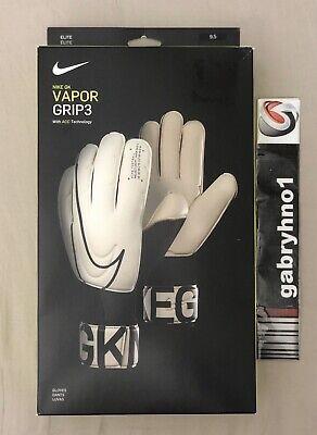 Íncubo táctica nacimiento  Nike GK Vapor Grip 3 Goalkeeper Gloves GS3884-100 Adult Size 9.5 ACC GK  Gloves 193145981041 | eBay
