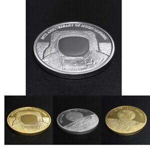 4pc-2019-Atterraggio-sulla-Luna-Souvenir-sfida-Commemorative-Moneta-Collectibles
