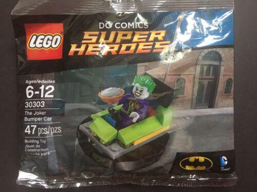 Lego Dc Comics Super Heroes The Joker Bumper Car 30303 New Polybag Sealed