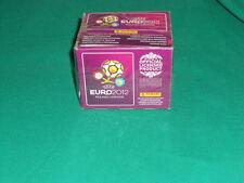 ALBUM PANINI FIGURINE EURO 2012  BOX SIGILLATO SALED  FULL 50 BUSTINE  PACKET