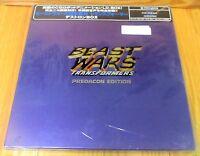 Beast Wars Transformers Predacon Edition Laserdisc Box Set & Sealed