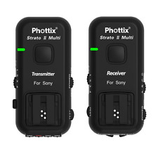 Phottix Strato II 5-in-1 Wireless Trigger Set: SONY/MINOLTA