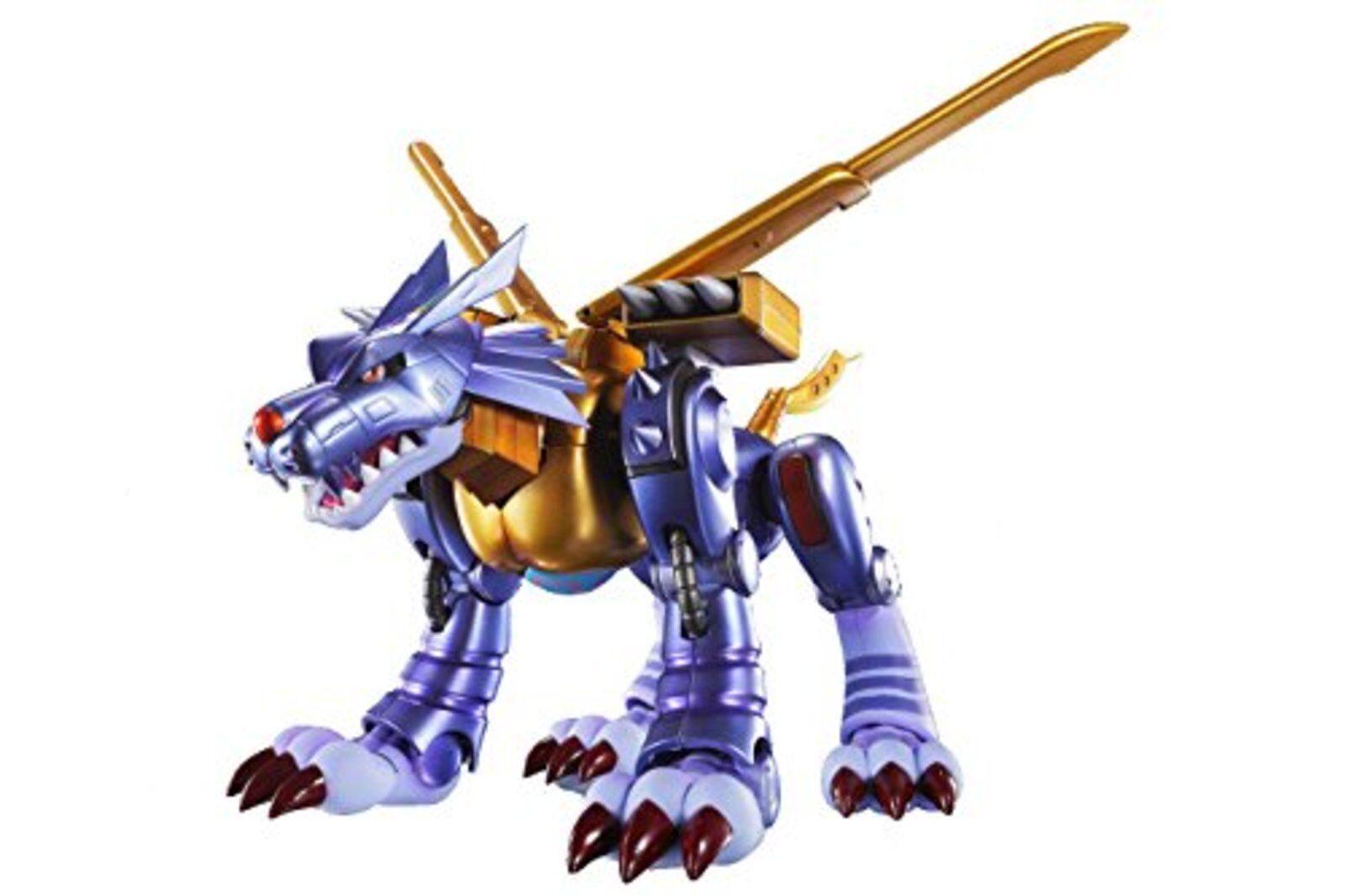 marca de lujo S. H. FIGUARTS Digimon Metal Garurumon Original de Diseñador Diseñador Diseñador Edición Figura F    las mejores marcas venden barato