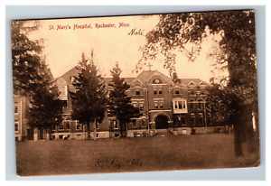 Vintage-View-of-St-Mary-039-s-Hospital-Rochester-MN-Early-1900-039-s-Postcard