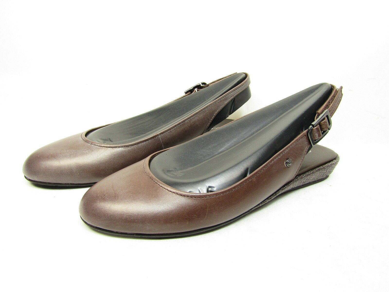 Rockport  Ella II Women's shoes  Sandals Ballerinas  Slingback Brown Size 6.5M