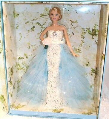 BARBIE OSCAR DE LA RENTA BRIDE 2016 GOLD LABEL NRFB - model muse doll collection