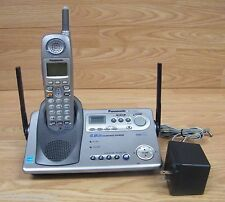 panasonic kx tg5240 gigarange supreme 5 8 cordless phone 3 mailbox rh ebay co uk Panasonic Cordless Phone User Manual Panasonic Telephone User Manuals
