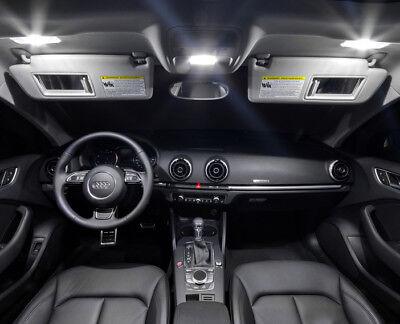 Kit éclairage intérieur ampoules à  LED   Blanc pur  Habitacle pour Audi A3  8V
