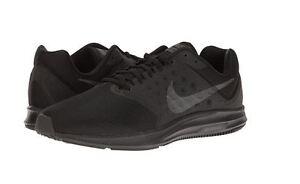 cb0db0fef49 Image is loading Nike-Downshifter-7-4E-Running-Shoe-Black-Metallic-