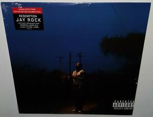 JAY-ROCK-REDEMPTION-2018-BRAND-NEW-SEALED-LIMITED-EDITION-RED-COLOUR-VINYL-LP