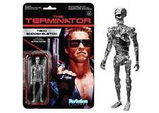 Terminator Cromo T-800 Reaction 3 3/4 Pulgadas Retro Figura-Nuevo en la acción