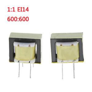 2-Pcs-audio-transformers-600-600-ohm-europe-1-1-EI14-isolation-transformer-KRFS