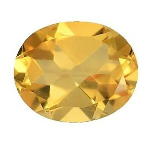 CITRINE-GEM-OVAL-CUT-6x4mm-YELLOW-GENUINE-GEMSTONE-NATURAL-LOOSE-FACETED-1-2-CT