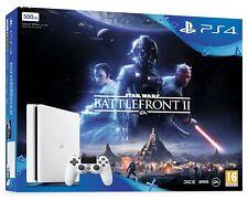 PS4 500GB Glacier White StarWars Battlefront 2