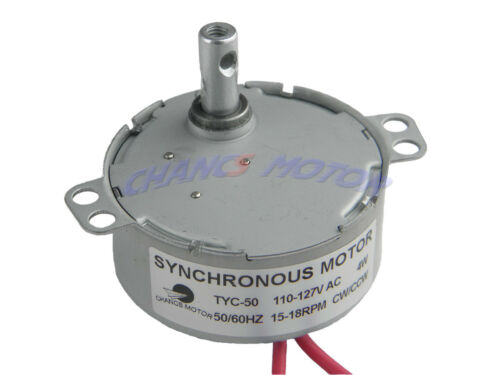 CHANCS TYC-50 AC 110V Electric Synchronous Motor Low Speed For Hand-Made