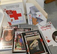 Sleepaway Camp Survival Kit (dvd 2002) Rare Recalled Cover W 4th Bonus Dvd