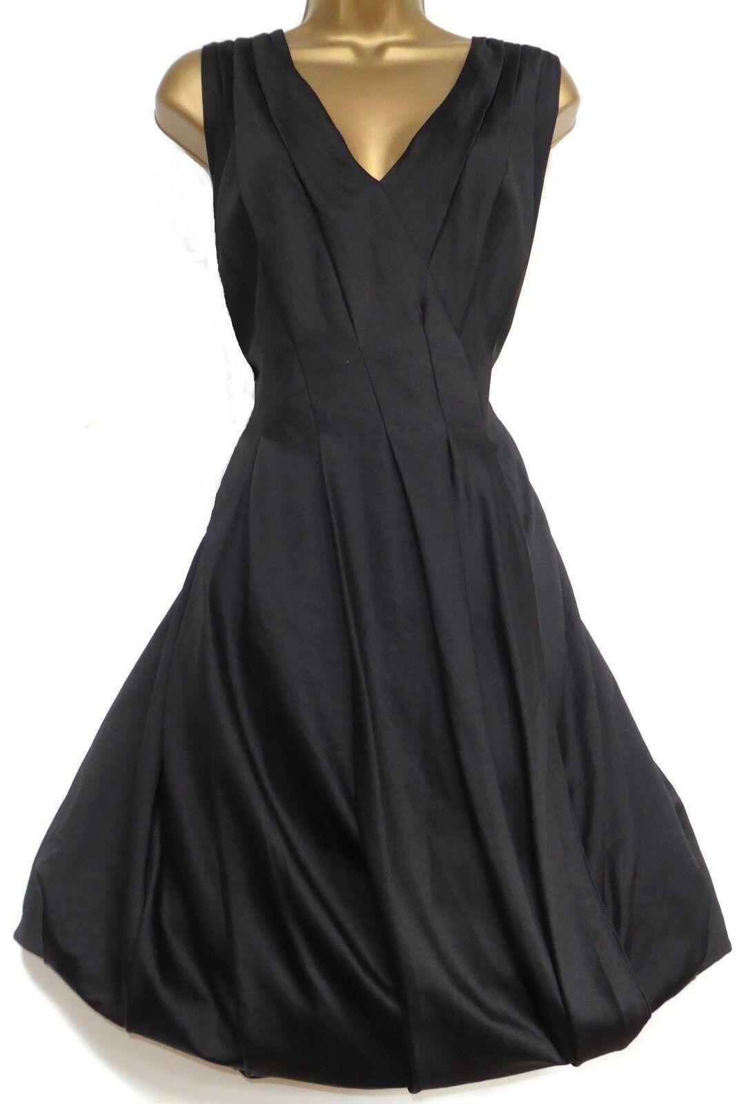 Monsoon ✩ SPLENDIDA Nero Erin autostop Orlo bolla Cocktail Party Dress ✩