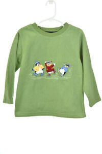 Details about Talbots Kids Boys Sweaters Sweatshirts 4 Green Polyester