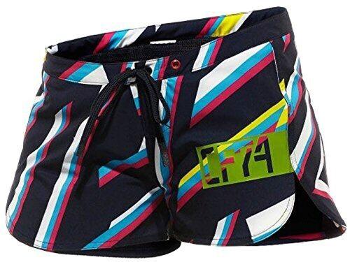 Nuevo Mujer Shorts Tejido de punto Reebok Cf Crossfit Bdsh Multi Color Forma Bo