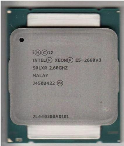 Intel Xeon Ten-Core E5-2660v3 2.60GHZ 25MB LGA2011-3 Server CPU Processor SR1XR