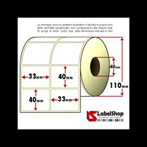 Rotolo-da-3000-etichette-adesive-mm-33x40-Termiche-2-piste-anima-40
