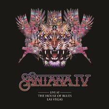 Santana IV - Live at the House of Blues, Las Vegas (DVD + 2 CD Set) SEALED