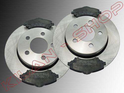 2 x Bremsscheiben Keramik Bremsklötze vorne Dodge Nitro 2007-2012 302mmØ Diesel