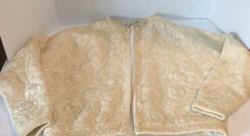 Vtg 40s 50s Gene Shelly Boutique Heavily Embroider